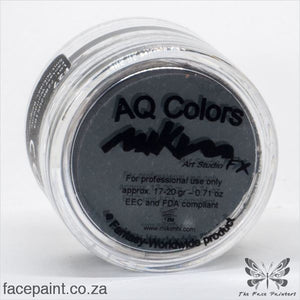 Mikim Fx Face Paint F27 Black Paints