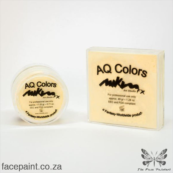Mikim Fx Face Paint P01 Vanilla Paints