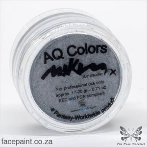 Mikim Fx Face Paint S04 Silver Paints