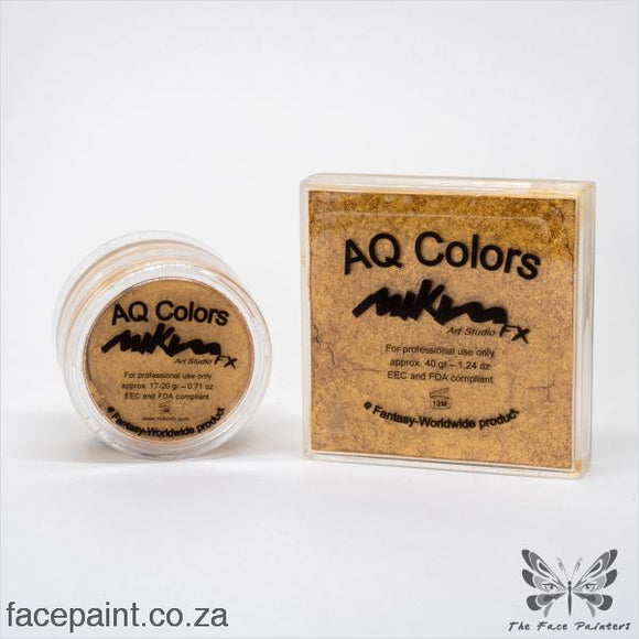 Mikim Fx Face Paint S07 Golden Paints