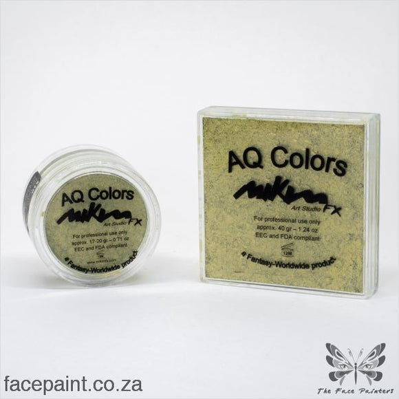 Mikim Fx Face Paint S10 Golden Green Paints