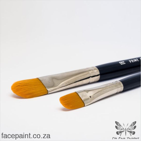 Prime Art Face Painting Brush Filbert Brushes