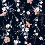 Designer Fabric - per metre - Garden Botanical Plants-The Face Painters South Africa for professional face paint supplies