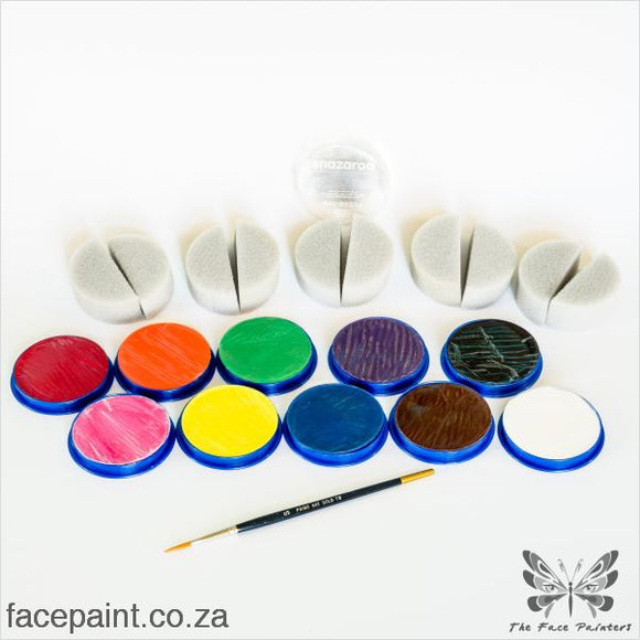 Snazaroo B: Starter Face Painting Kit Paints