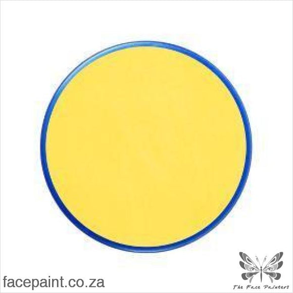 Snazaroo Face Paint Classic Bright Yellow Paints