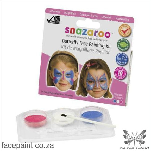 Snazaroo Face Paint Mini Kit Butterfly Paints