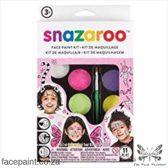 Snazaroo Face Paint Mini Kit Fantasy Paints