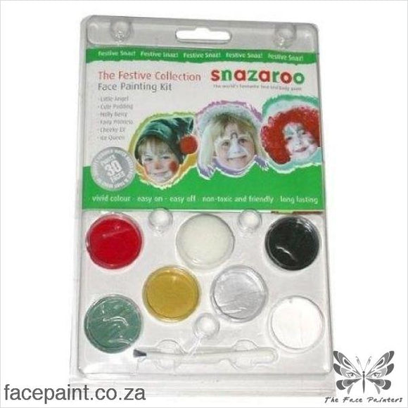 Snazaroo Face Paint Mini Kit Festive Paints