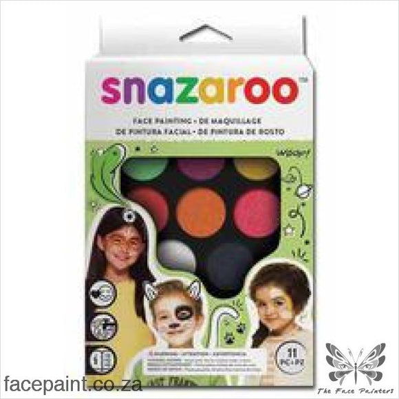 Snazaroo Face Paint Mini Kit Rainbow Paints