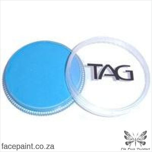 Tag Face Paint Neon Blue Paints