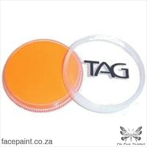 Tag Face Paint Neon Orange Paints