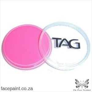 Tag Face Paint Neon Pink Paints
