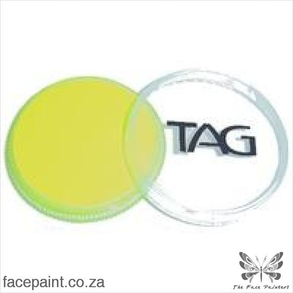 Tag Face Paint Neon Yellow Paints
