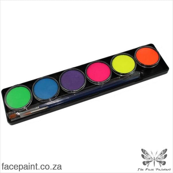 Tag Face Paint Palette Neon Paints