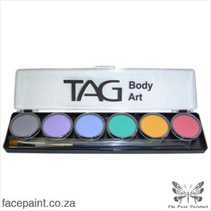 Tag Face Paint Palette Pastel Paints
