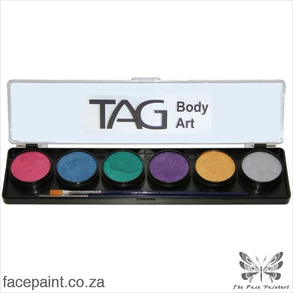 Tag Face Paint Palette Pearl Paints