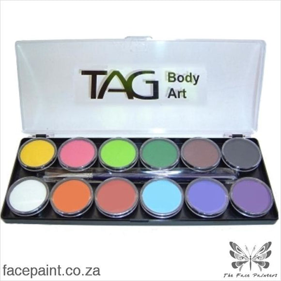 Tag Face Paint Palette Regular Paints