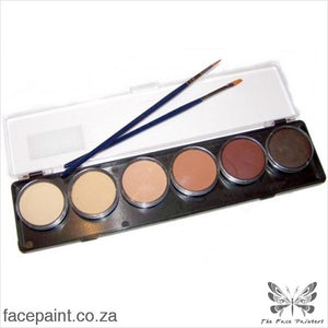Tag Face Paint Palette Skintone Paints