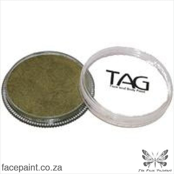 Tag Face Paint Pearl Bronze Green Paints