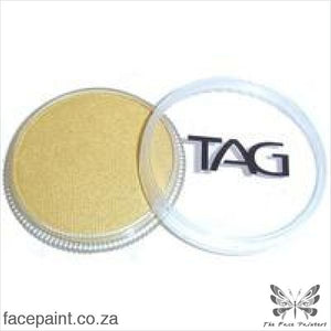 Tag Face Paint Pearl Gold Paints