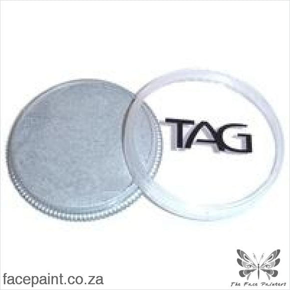 Tag Face Paint Pearl Silver Paints