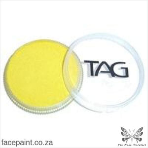 Tag Face Paint Pearl Yellow Paints