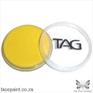 Tag Face Paint Regular Yellow Paints