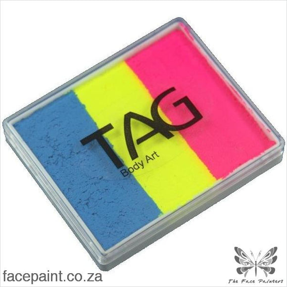 Tag Face Paint Split Cake Base Blender Carnival Paints