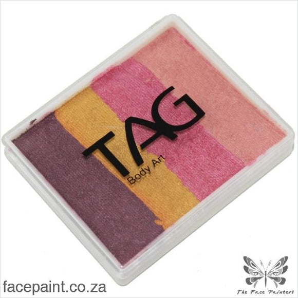 Tag Face Paint Split Cake Base Blender Golden Plumb Paints