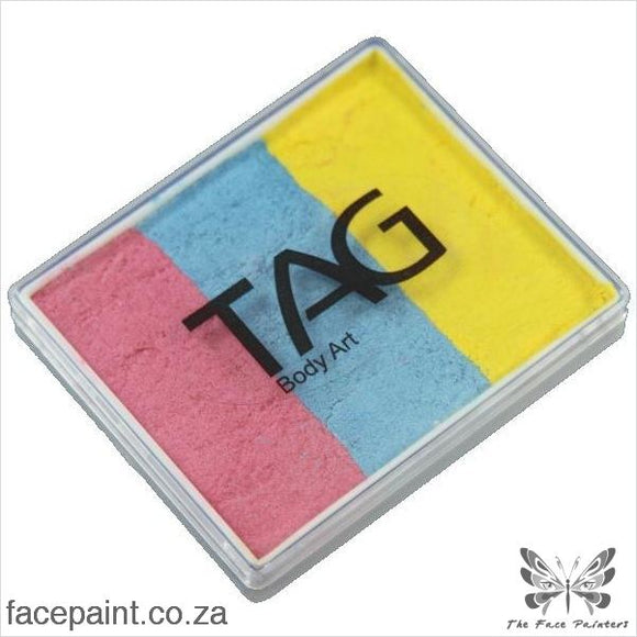 Tag Face Paint Split Cake Base Blender Jewel Paints