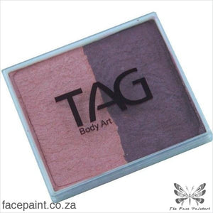 Tag Face Paint Split Cake Base Blender Pearl Blush / Wine Paints