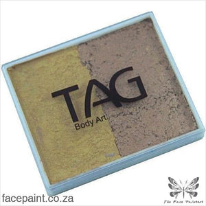 Tag Face Paint Split Cake Base Blender Pearl Gold / Old Paints