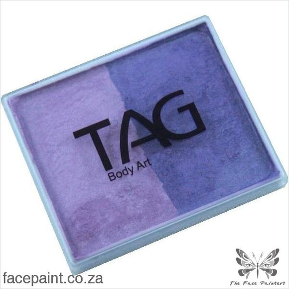 Tag Face Paint Split Cake Base Blender Pearl Purple / Lilac Paints