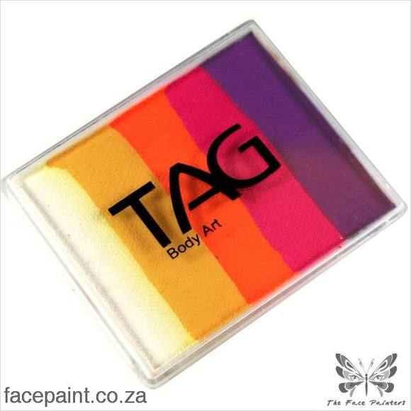 Tag Face Paint Split Cake Base Blender Sunset Paints