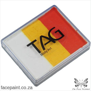 Tag Face Paint Split Cake Base Blender Tiger Paints
