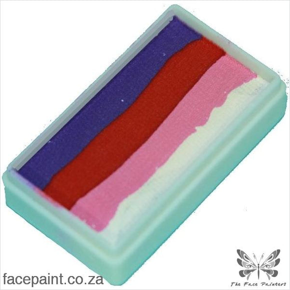 Tag Face Paint Split Cake One-Stroke Berry Paints
