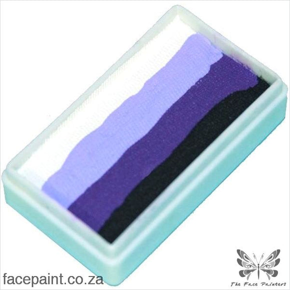 Tag Face Paint Split Cake One-Stroke Black Iris Paints