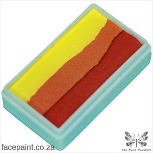 Tag Face Paint Split Cake One-Stroke Flame Paints