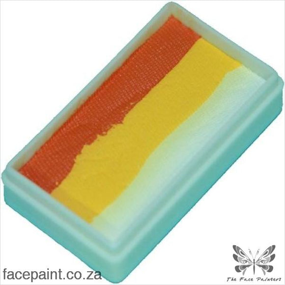 Tag Face Paint Split Cake One-Stroke Frangipani Paints