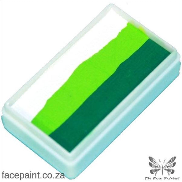 Tag Face Paint Split Cake One-Stroke Leaf White Paints