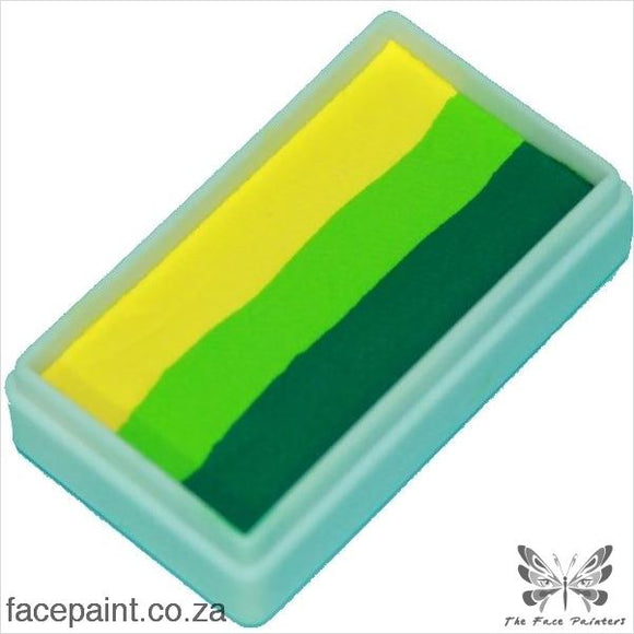 Tag Face Paint Split Cake One-Stroke Leaf Yellow Paints