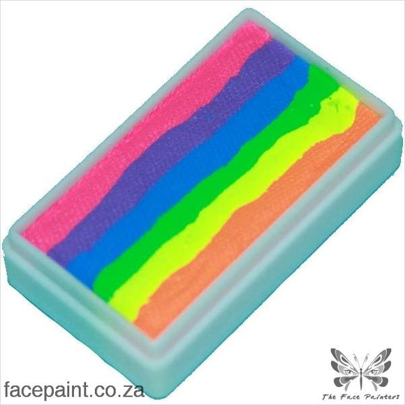 Tag Face Paint Split Cake One-Stroke Neon Rainbow Paints