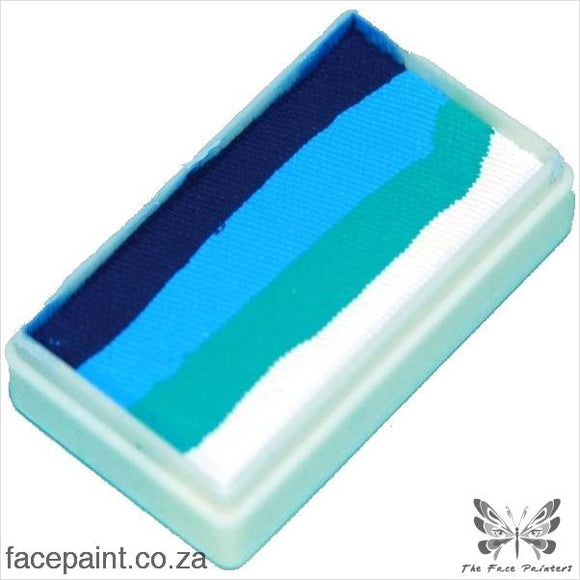 Tag Face Paint Split Cake One-Stroke Ocean Paints