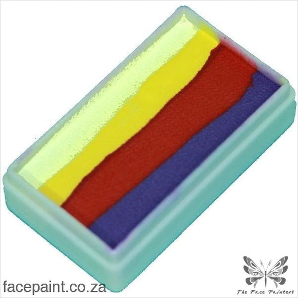 Tag Face Paint Split Cake One-Stroke Pansy Paints