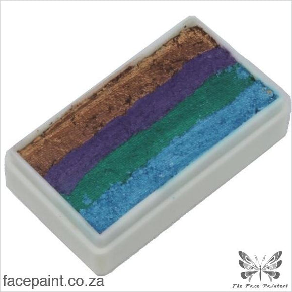 Tag Face Paint Split Cake One-Stroke Peacock Paints