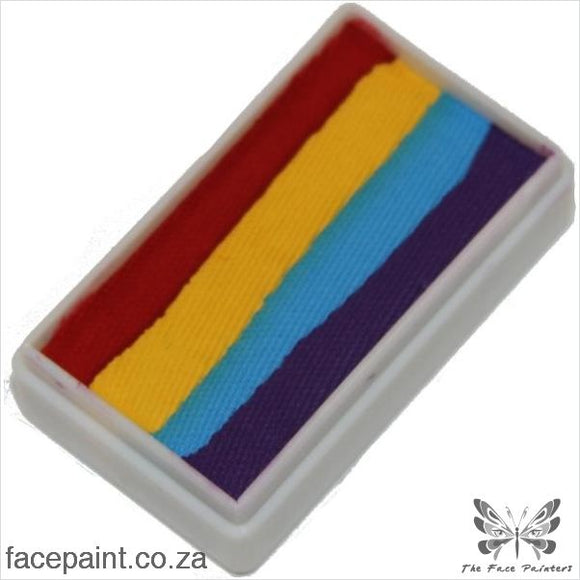 Tag Face Paint Split Cake One-Stroke Regular Rainbow Four Paints