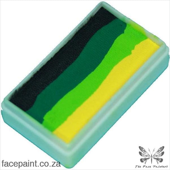 Tag Face Paint Split Cake One-Stroke Snake Paints