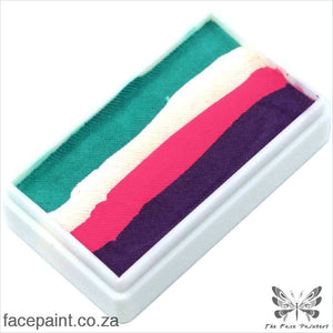 Tag Face Paint Split Cake One-Stroke Unicorn Magenta Paints