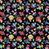 FABArt Custom Print Fabric - Showcase SA Designer unFABRICated - Trolls (printed without watermark)