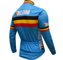 Belgium National Pro Long Sleeve Cycling Jersey